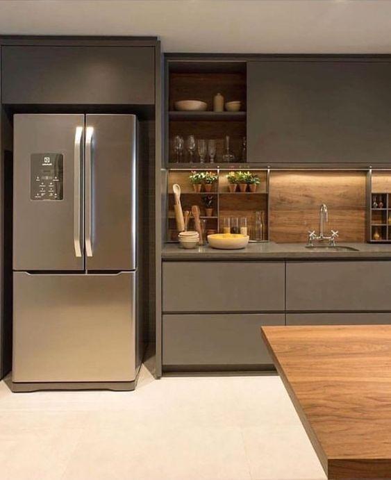 cozinha com moveis