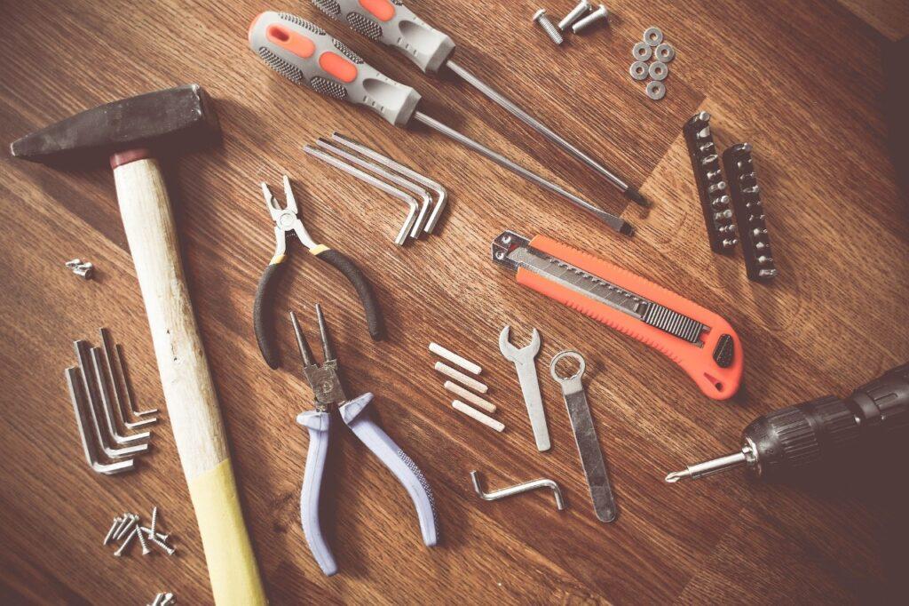 ferramentas de casa para construcao
